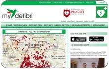 Konzept und App-Entwicklung für Projekt MyDefibri.com