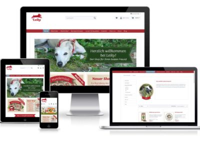 Leiky.de – Hundefutter Online Shop